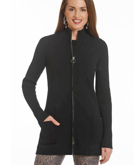 Knit Zip Jacket - Mary Walter