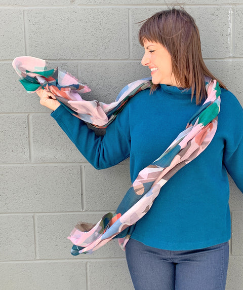 Stained Glass Scarf