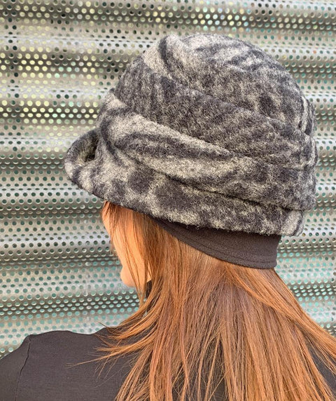 Lexi Hat Animal Print - Mary Walter