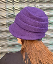 Beatrice Hat Purple - Mary Walter