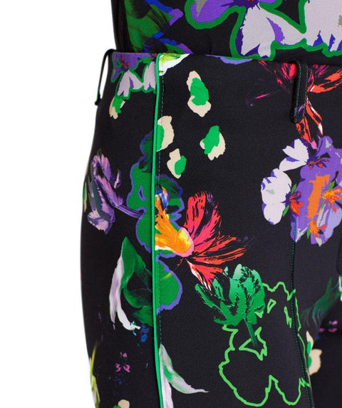 Floral outline pant - Mary Walter