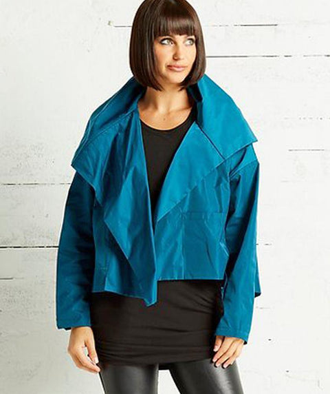 TAFFETA SWING JACKET - Mary Walter