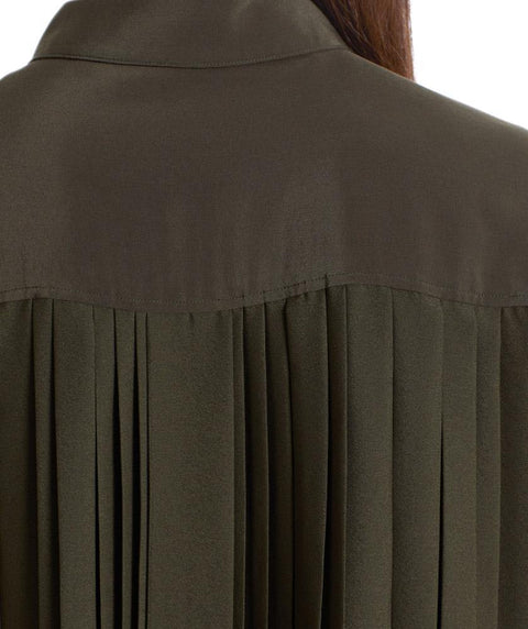 Pleat back blouse - Mary Walter