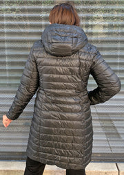 Reversible Micro Down Coat - Mary Walter