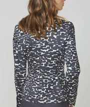 Abstract Dots Blazer