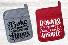 Load image into Gallery viewer, Baking Quotes Svg Bundle, Pot Holder Svg Bundle