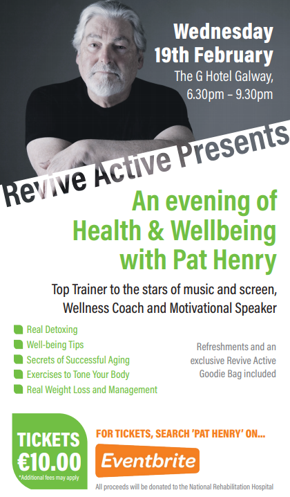 An Evening of Health & Wellness with Pat Henry