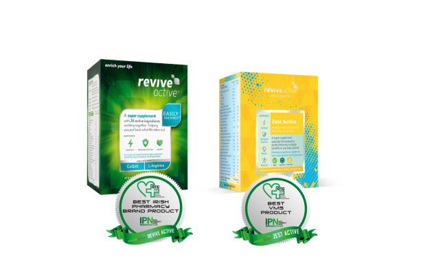 REVIVE ACTIVE WINS BIG AT PHARMACY AWARDS