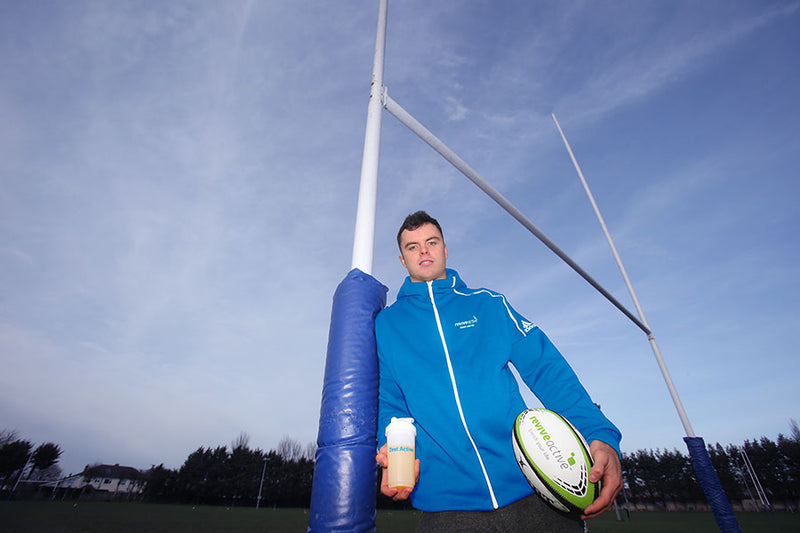 Revive Active - James Ryan - Brand Ambassador - Zest Active - Rugby