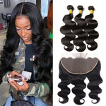 TRIO TISSAGE & LACEFRONTAL BODY WAVE