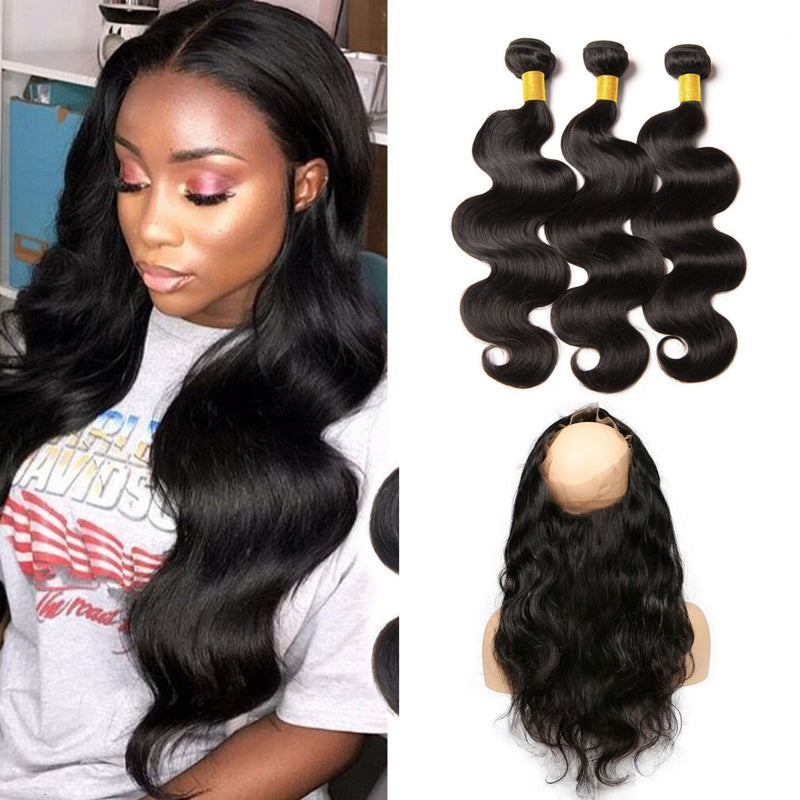 TRIO TISSAGE & LACE 360 BODY WAVE