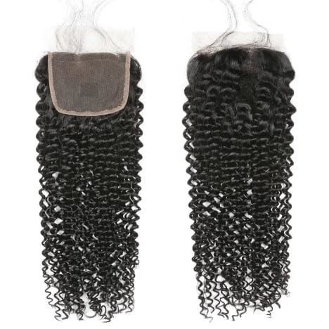 Closure 5*5 kinky curls virgin