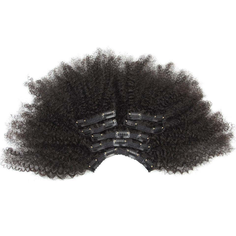 Extensions Clip-In Afro Kinky Curly