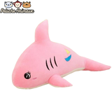 Peluche Requin Yeux Brillants Rose