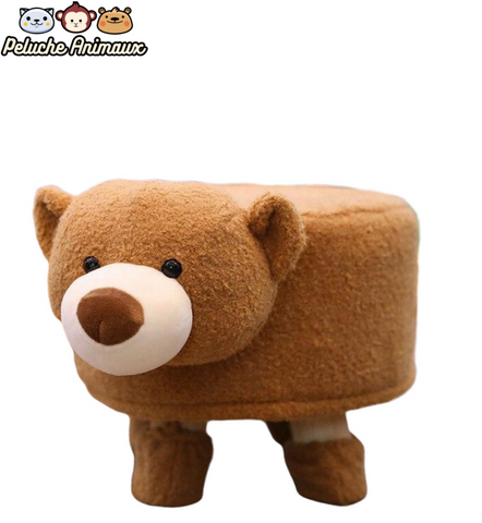 Peluche Siège Tabouret Ours