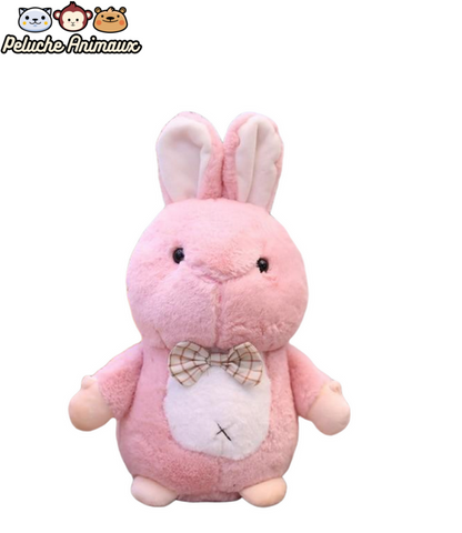 Peluche Lapin Vintage Rose