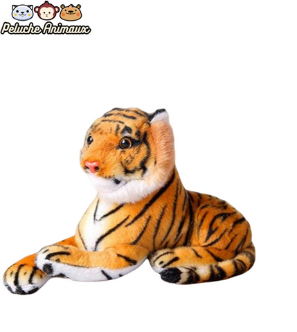 Peluche Tigre Orange Petits Yeux Brillants