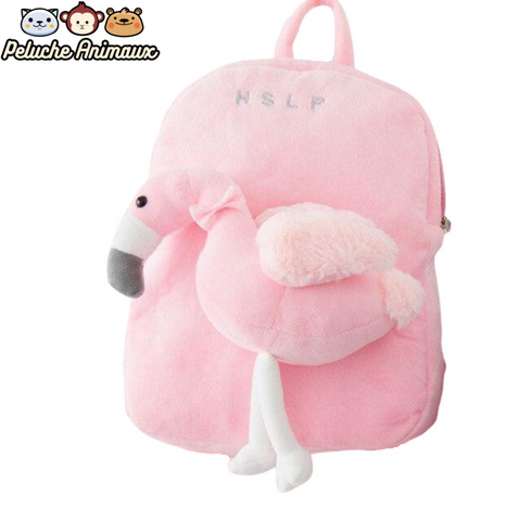 Peluche Flamant Rose<br/> Le Sac Flamant Rose - Peluche-Animaux