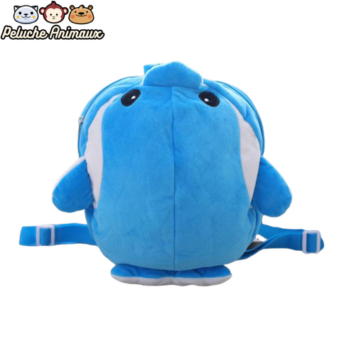 Peluche Dauphin<br/> Le Sac Dauphin - Peluche-Animaux