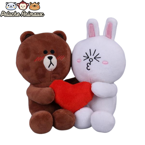 Peluche Ours<br/> Love Du Lapin - Peluche-Animaux