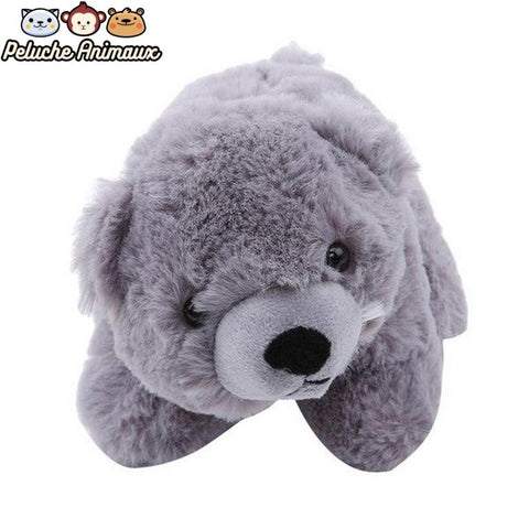 Peluche Ours<br/> L'Ours Gris - Peluche-Animaux