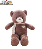 Peluche Ours<br/>L'Ours Rose - Peluche-Animaux