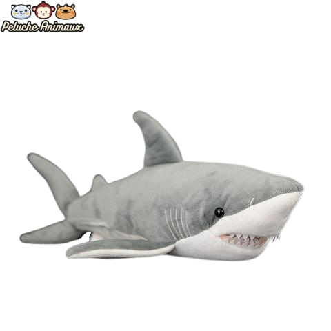 Peluche Requin<br/> Le Grand Requin Blanc - Peluche-Animaux
