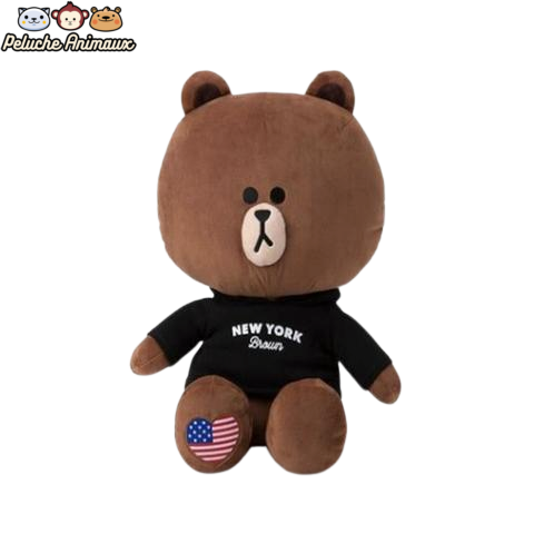 Peluche Ours<br/> L'Ours de New York - Peluche-Animaux