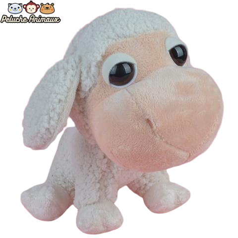 Peluche Mouton<br/> Mouton Gros Yeux - Peluche-Animaux