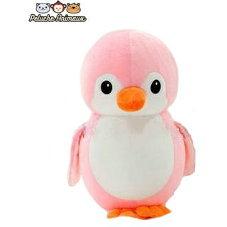 Peluche Pingouin<br/> Le Pingouin Rose - Peluche-Animaux