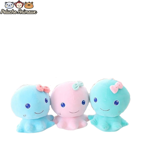 Peluche Poulpe<br/> Le Poulpe Kawaii - Peluche-Animaux