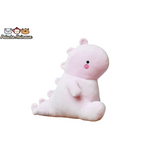 Peluche Dinosaure<br/>Le Dinosaure Rose - Peluche-Animaux