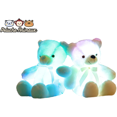 Peluche Ours<br/> Le Lumineux - Peluche-Animaux
