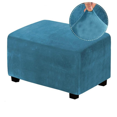 Ottoman Collection - MiracleSofa™ Spill-Resistant Suede Covers