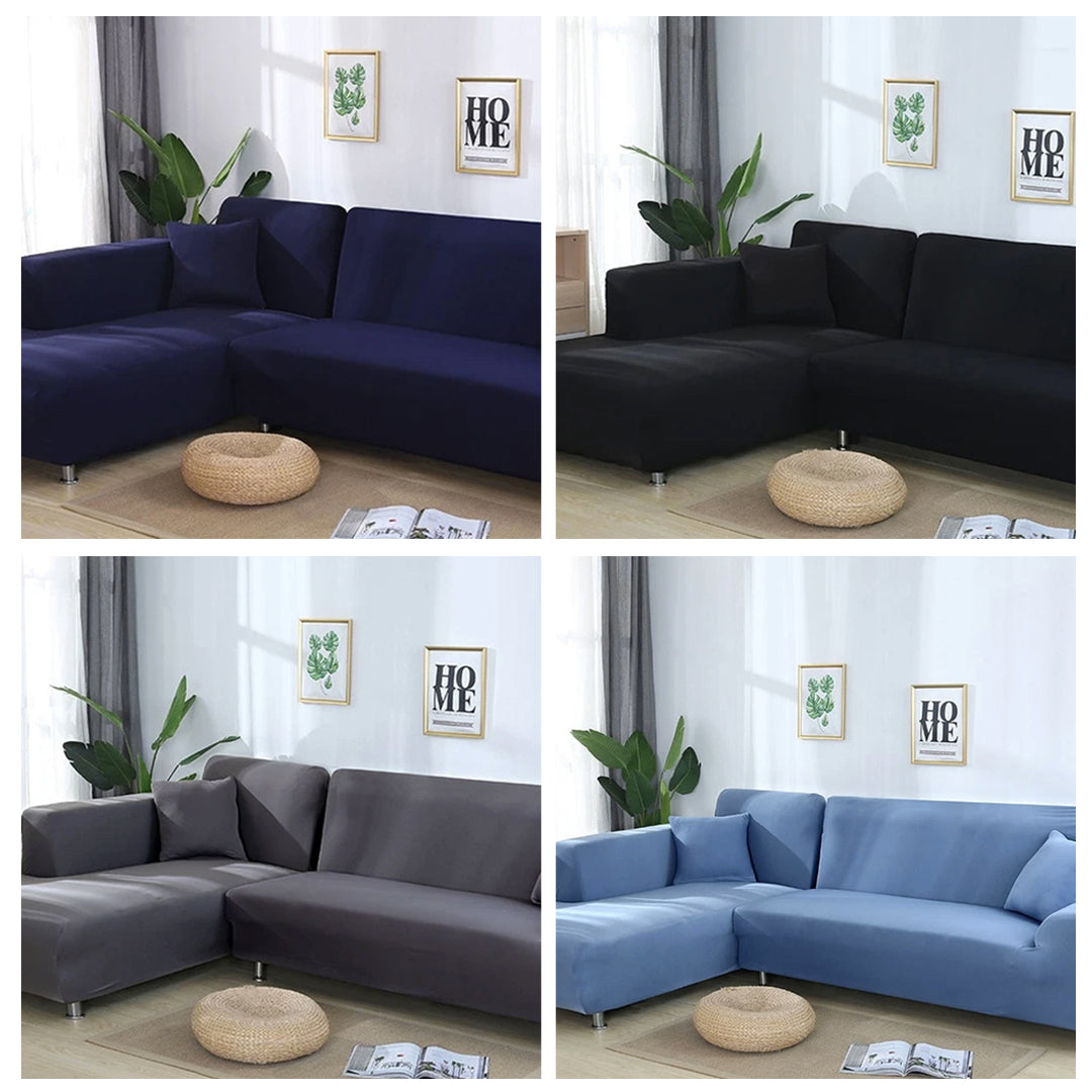 Original Sofa – Single Color Universal Sofa & Cushion Cover