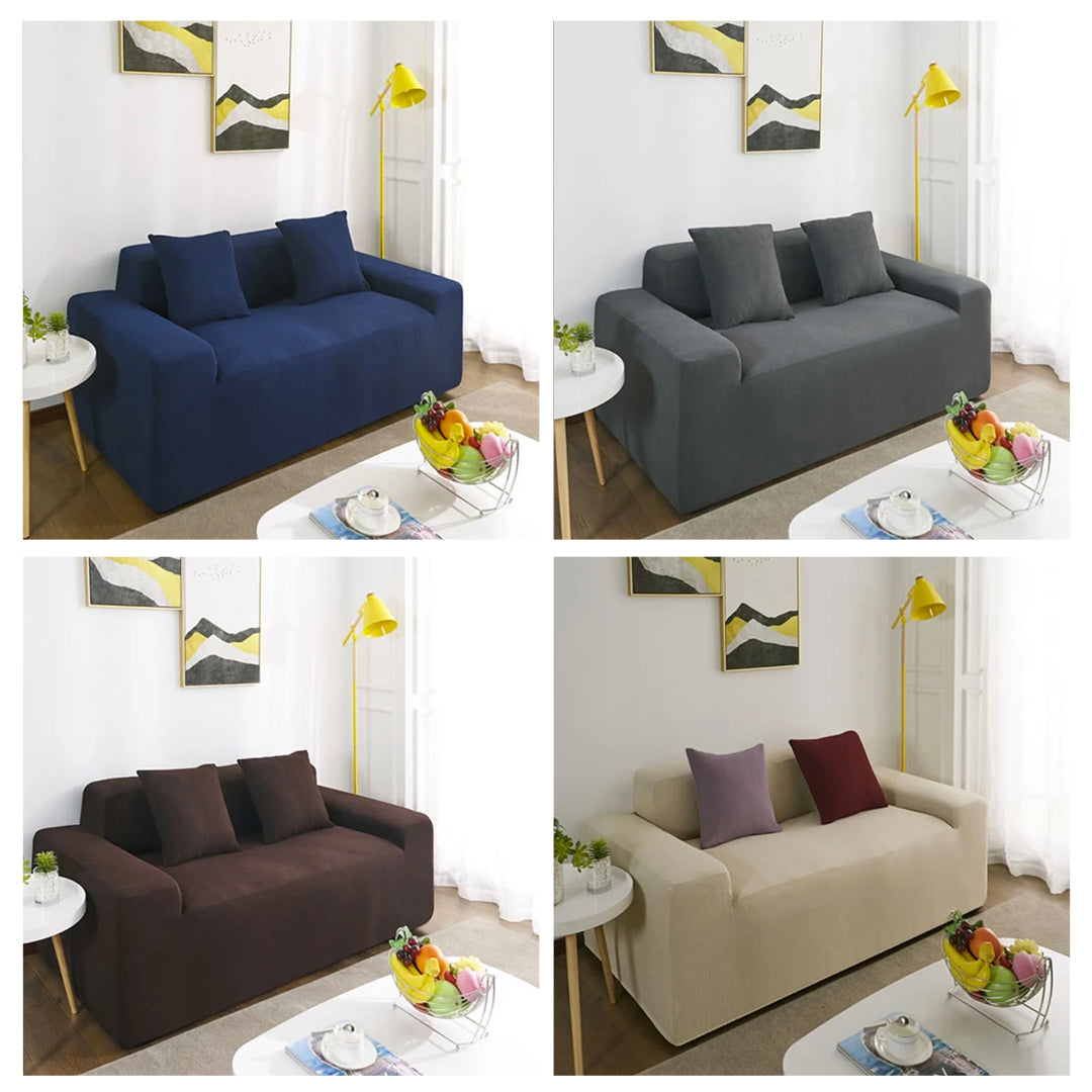 Guardian Sofa – SPILL PROOF and Water Resistant Single Color Universal Sofa & Cushion Cover