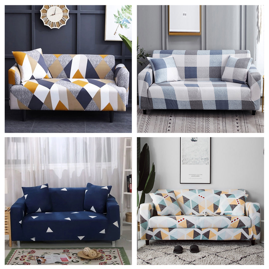 New Age Sofa – Patterned Universal Sofa & Cushion Cover