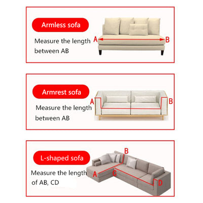Guardian MiracleSofa™ - WATER PROOF Single Color Universal Sofa & Cushion Cover