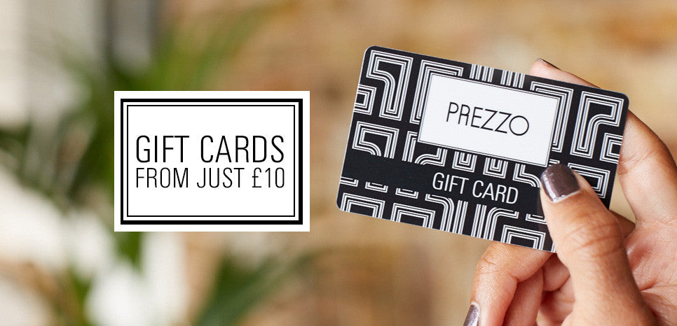 Prezzo Giftcards from £10