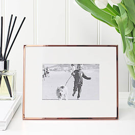 Copper Fine Photo Frame 4x6""