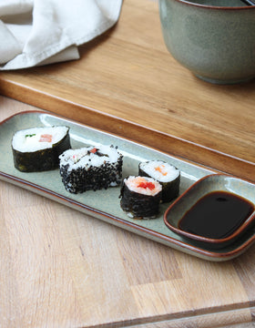 Ceramic Sushi Serving Tray