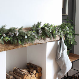 Eucalyptus and Pinecone Garland