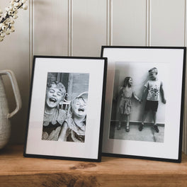 Black Fine Photo Frame 4x6""