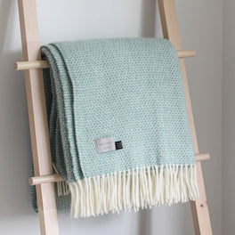 St Ives Woven Wool Throw