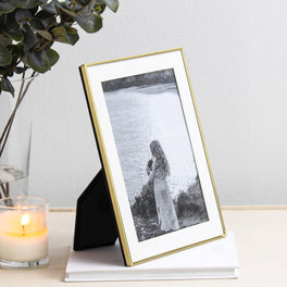 Brass Plated Fine Photo Frame 5x7""