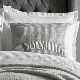 Large Grey Wool Cushion