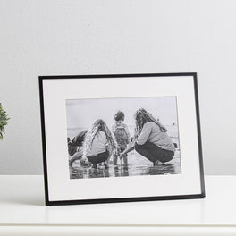 Black Fine Photo Frame 5x7""