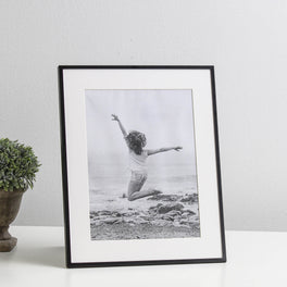 Black Fine Photo Frame 6x8""
