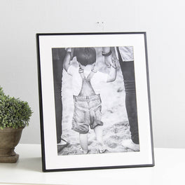 Black Fine Photo Frame 8x10""