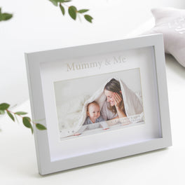 Mummy And Me Grey Photoframe